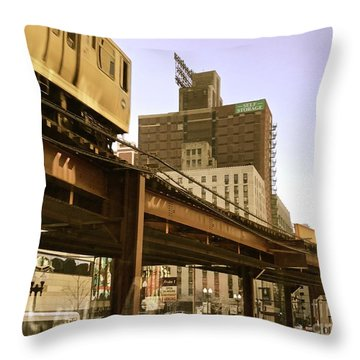Moving Boxes Too Throw Pillow by Trish Hale