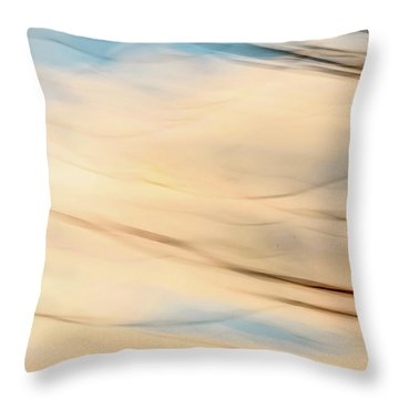Moving Branches Moving Clouds Throw Pillow