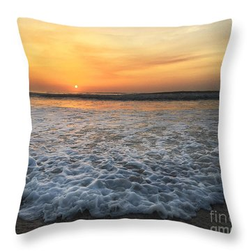Throw Pillow featuring the photograph Moving In by LeeAnn Kendall
