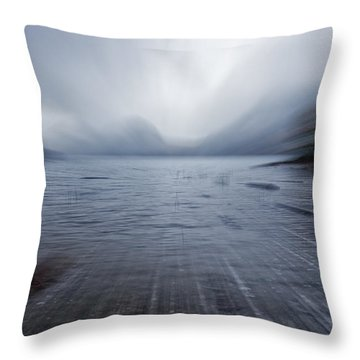 Fall In Maine Throw Pillows
