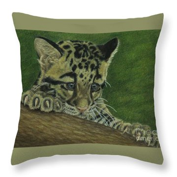 Mowgli Throw Pillow by Jennifer Watson