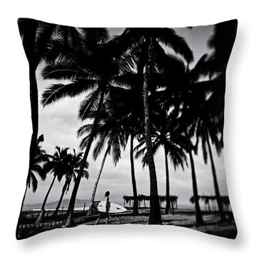 Throw Pillow featuring the photograph Mozzie Bait by Nik West