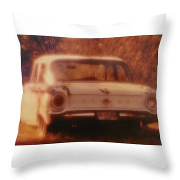 Mprints-oldie But Goodie Throw Pillow