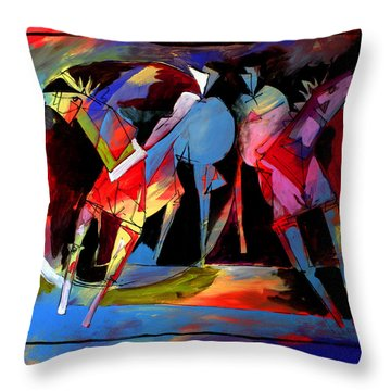 Mr Ameeba 1 Throw Pillow