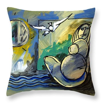 Mr Ameeba 10 Throw Pillow
