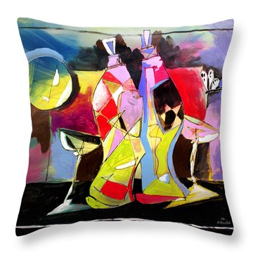 Mr Ameeba 3 Throw Pillow