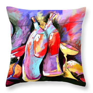 Mr Ameeba 4 Throw Pillow