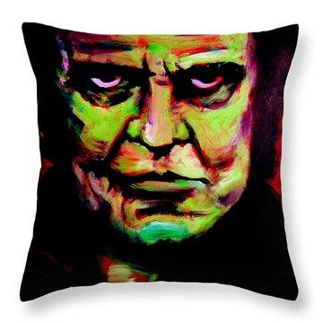 Mr. Cash Throw Pillow