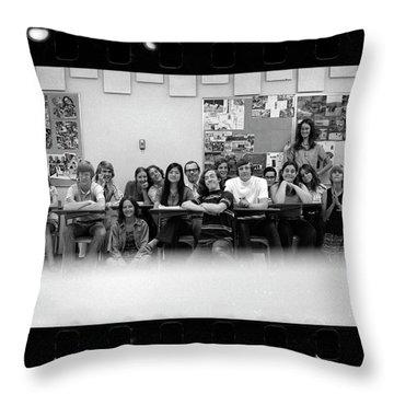 Mr. Clay's Ap English Class Throw Pillow