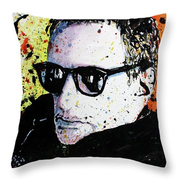 Mr Fagen Throw Pillow