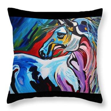Mr Gorgeous Throw Pillow