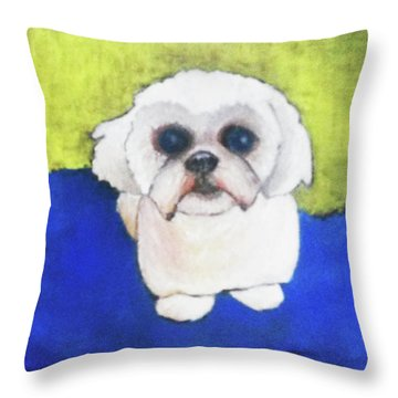 Mr. Ling Throw Pillow