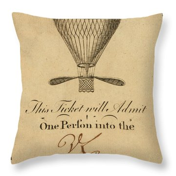 Mr. Lunardi Ascension Throw Pillow