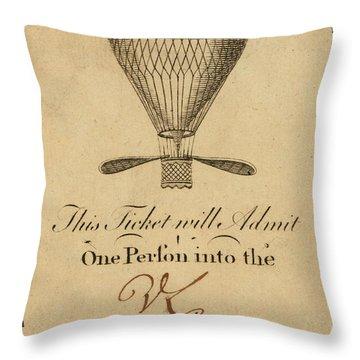 Mr. Lunardi Ascension Throw Pillow