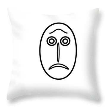 Mr Mf Is Helpless Throw Pillow