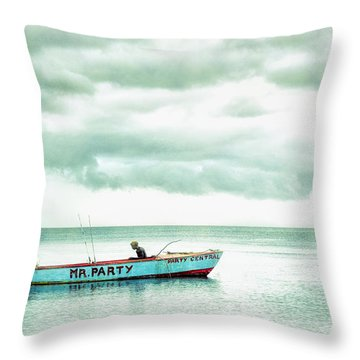 Mr. Party Throw Pillow