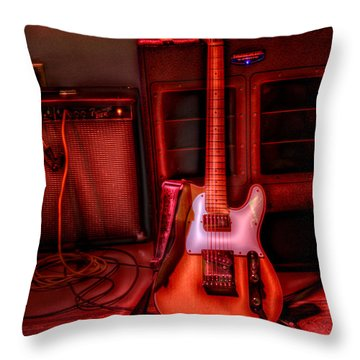 Mr. Scratch's Axe Throw Pillow