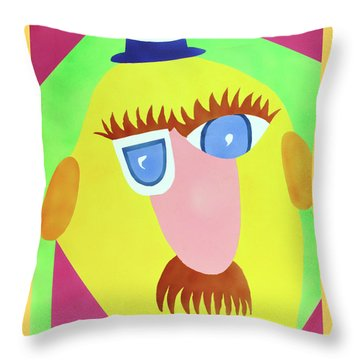 Mr. Strangefellow Throw Pillow