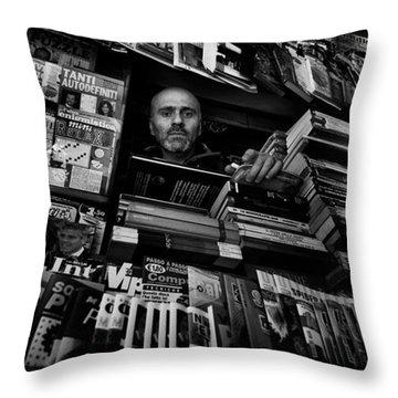 Magazine Throw Pillows