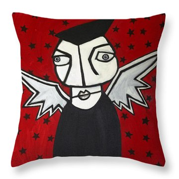 Mr.creepy Throw Pillow