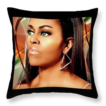 Mrs Class Throw Pillow