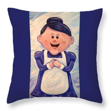 Mrs Claus Throw Pillow