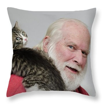 Ms Alexia And David Throw Pillow
