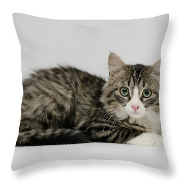Ms. Alexia Throw Pillow
