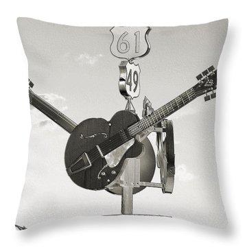 Ms Crossroads Throw Pillow