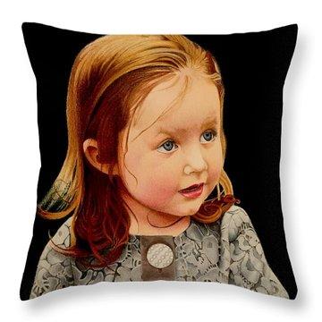 Ms Josie Throw Pillow