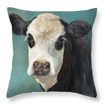 Ms Opal Throw Pillow