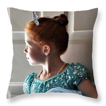 Ms Prima Ballerina Throw Pillow