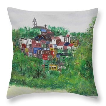 Mt. Adams  Cincinnati Ohio Throw Pillow