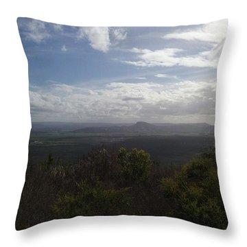 Mt Coolum Throw Pillow