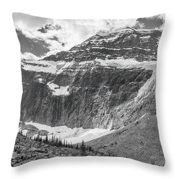 Mt. Edith Cavell Throw Pillow