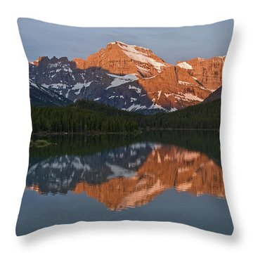Mt. Gould Throw Pillow