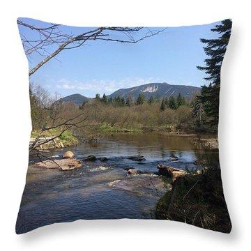 Mt. Katahdin Throw Pillow