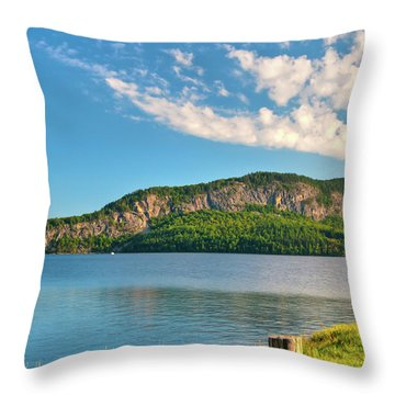Mt Kineo 1504 Throw Pillow