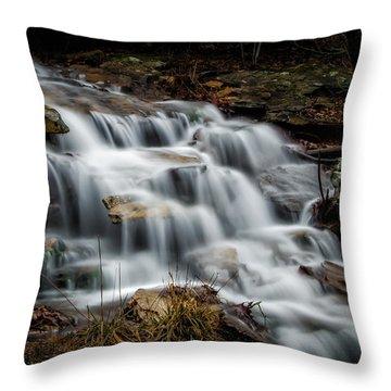 Mt. Magazine Cascade Throw Pillow by James Barber