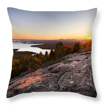 Mt. Major Summit Throw Pillow