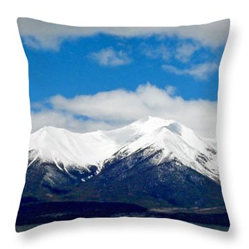 Mt. Princeton Colorado Throw Pillow