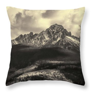Mt. Sneffels Throw Pillow