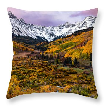 Mt. Sneffles Overlook Throw Pillow