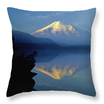 1m4907-v-mt. St. Helens Reflect V  Throw Pillow