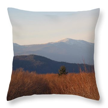 Mt Washington Nh Throw Pillow