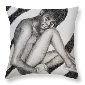 Mub Throw Pillow