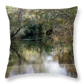 Muckalee Creek Throw Pillow