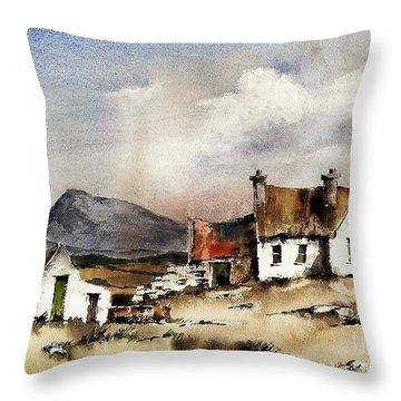 Muckish From Gortahork, Donegal Throw Pillow