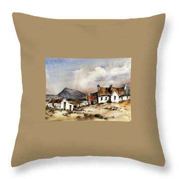Muckish From Gortahork, Donegal Throw Pillow