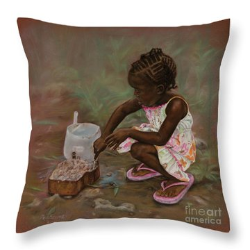 Mud Pies Throw Pillow